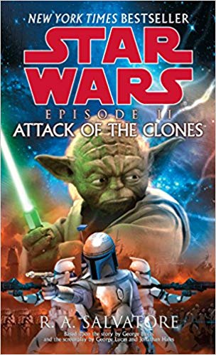 Attack of the Clones Audiobook by R. A. Salvatore Free