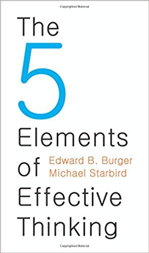 The 5 Elements of Effective Thinking Audiobook by Edward B. Burger Free
