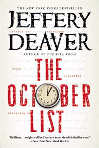 The October List Audiobook by Jeffery Deaver Free
