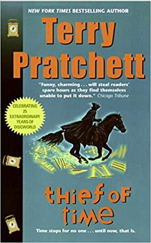 Thief of Time Audiobook by Terry Pratchett Free