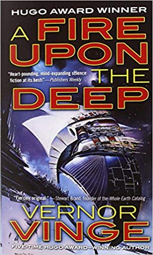 A Fire Upon The Deep Audiobook by Vernor Vinge Free