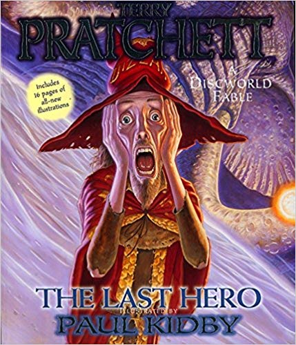 The Last Hero Audiobook by Terry Pratchett Free